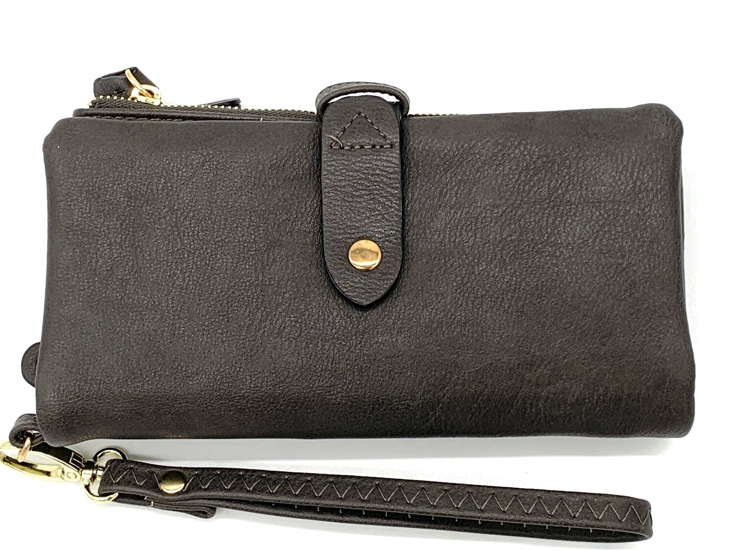 5268 Cell Phone Wristlet/Wallet dk gray