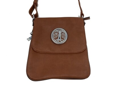 503 Expandale Zip Around Bag  camel