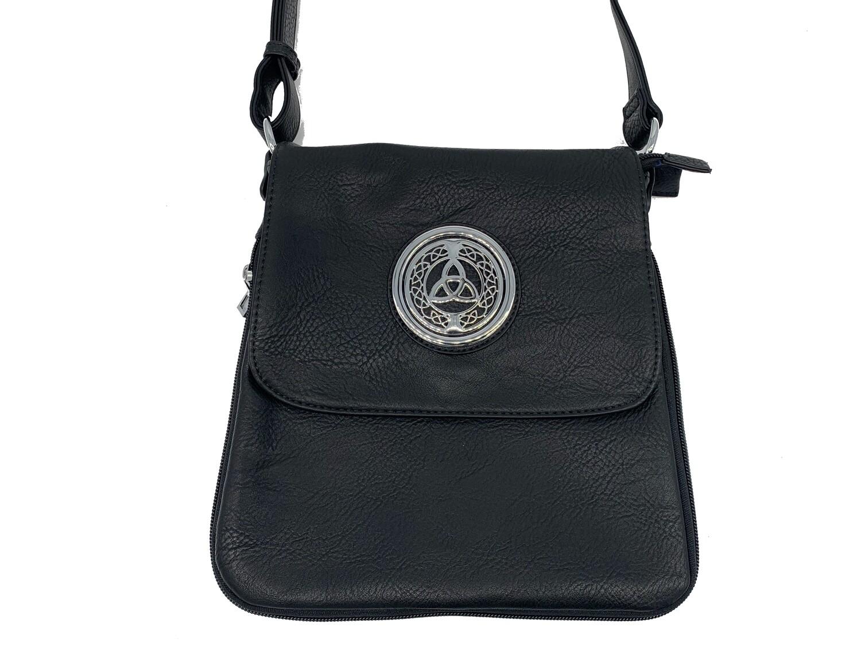503 Expandale Zip Around Bag  black