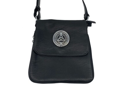 503 Expandale Zip Around Bag  black