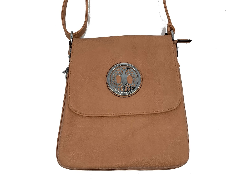 503 Expandale Zip Around Bag  blush