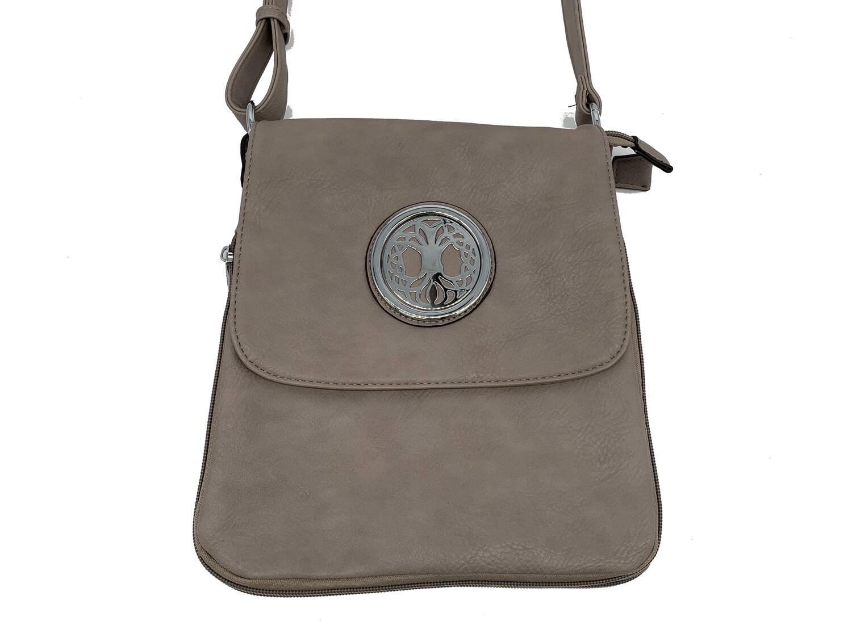 503 Expandale Zip Around Bag  gray