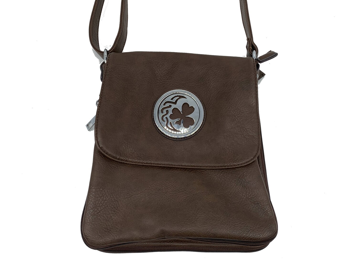 503 Expandale Zip Around Bag  coffee