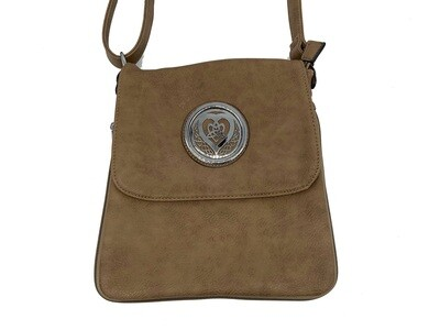 503 Expandale Zip Around Bag  khaki