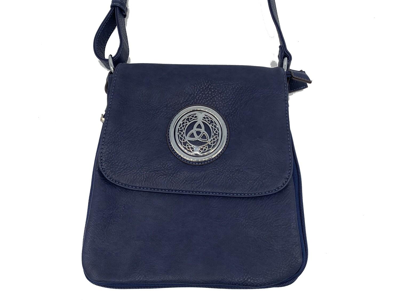 503 Expandale Zip Around Bag  navy