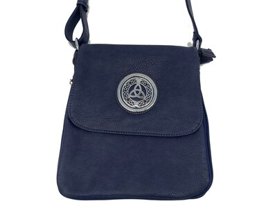 503 Expandale Zip Around Bag  navy