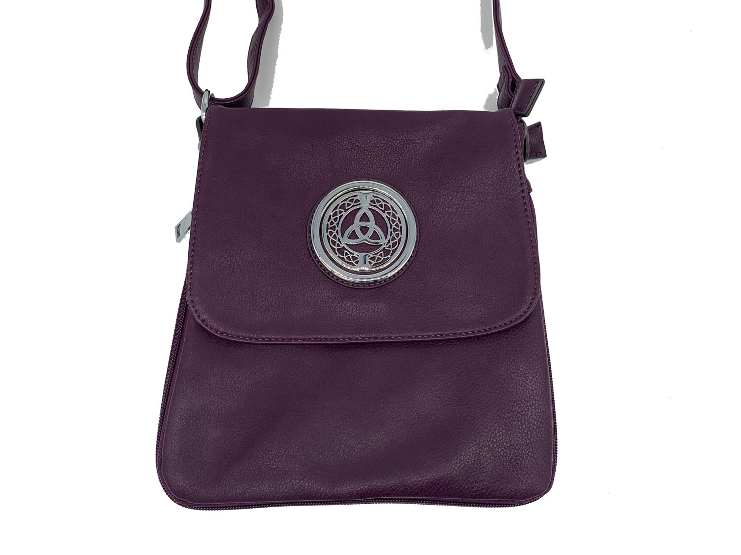 503 Expandale Zip Around Bag  purple