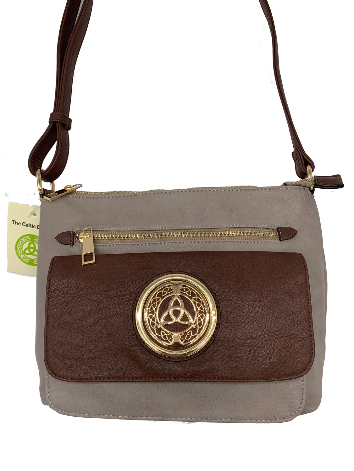 155 Two Tone Pocket Bag Gray