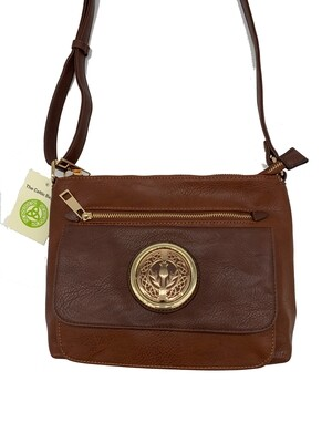 155 Two Tone Pocket Bag Camel
