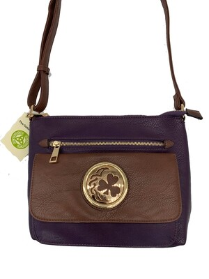 155 Two Tone Pocket Bag Purple