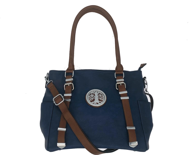 151 Buckle Bag navy