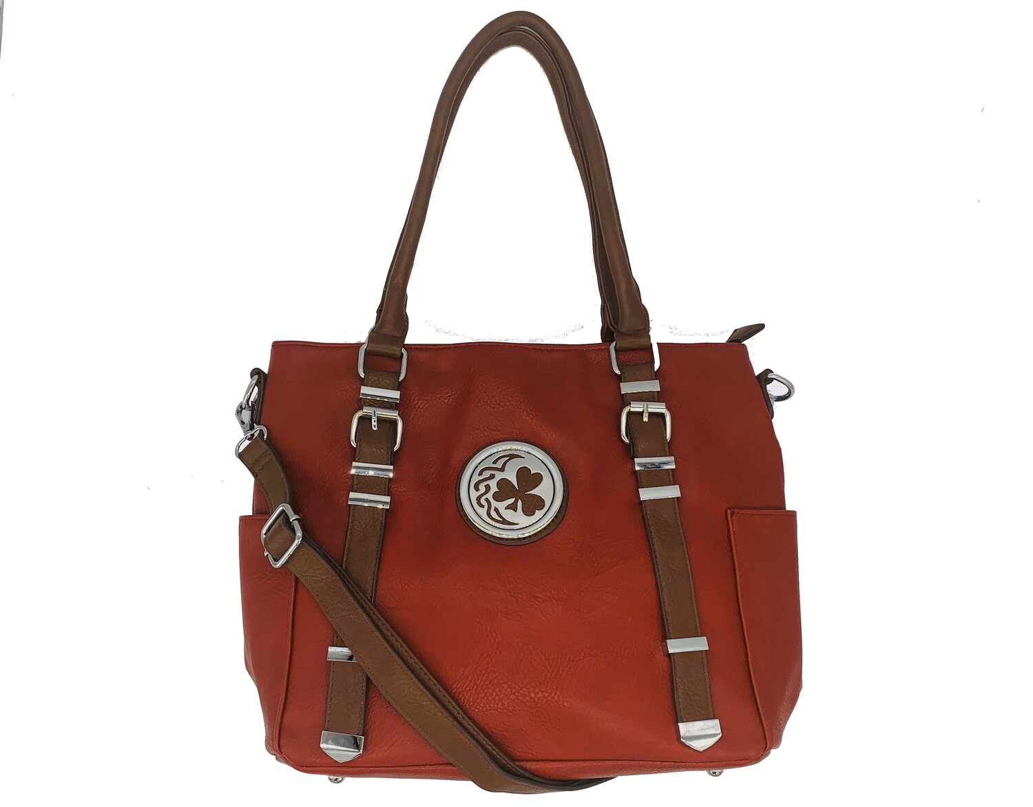 151 Buckle Bag red