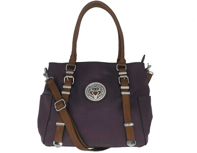 151 Buckle Bag purple
