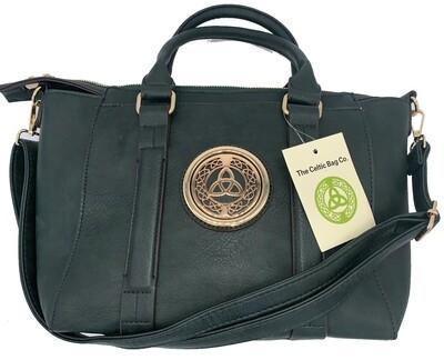 158 Classic Handbag Hunter Green