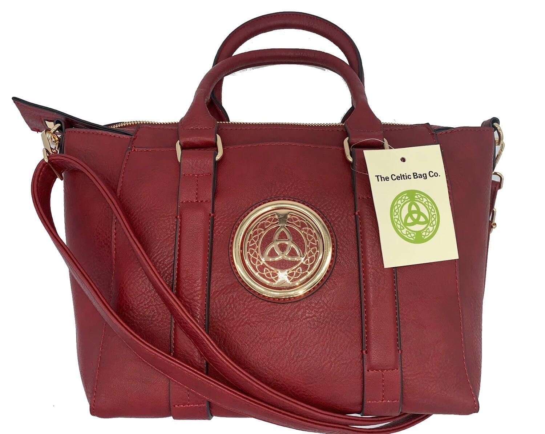 158 Classic Handbag Red