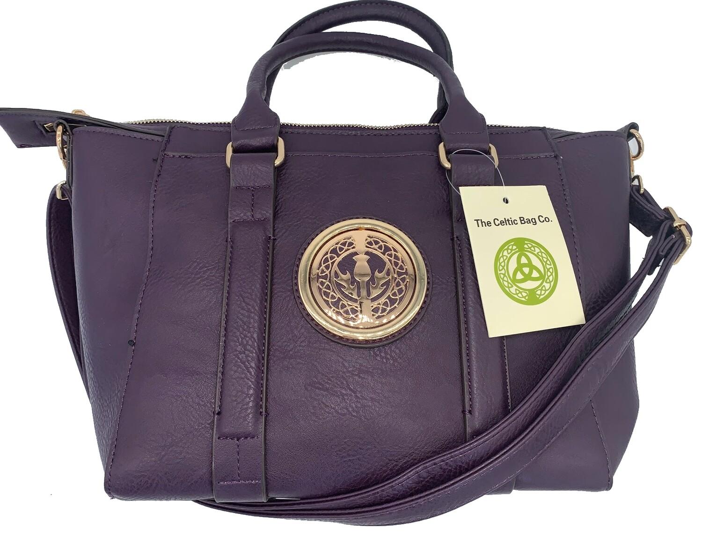 158 Classic Handbag Purple