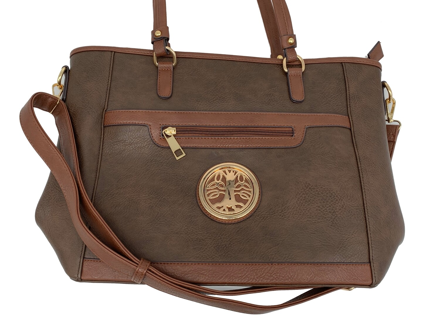 7115 All Day Cross Body Tote coffee