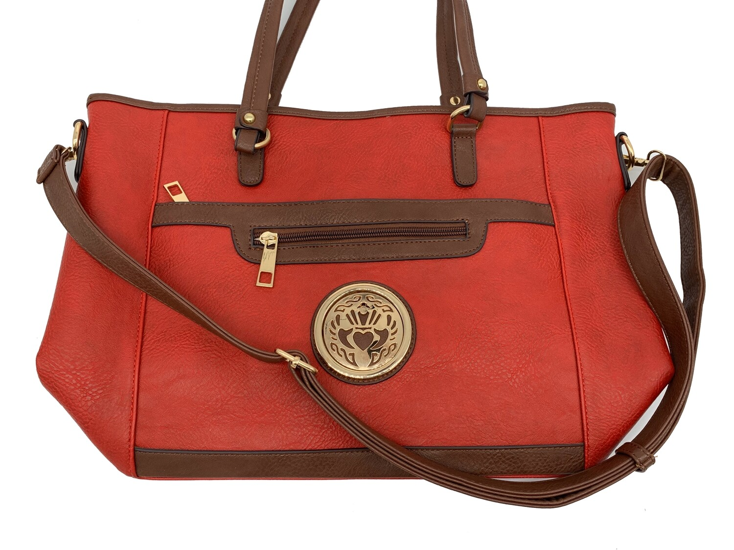 7115 All Day Cross Body Tote red