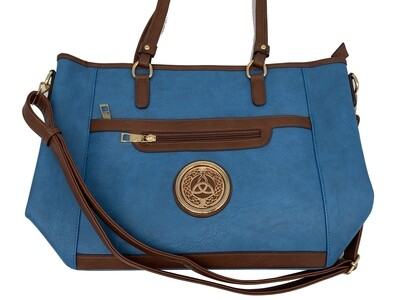 7115 All Day Cross Body Tote Sky Blue