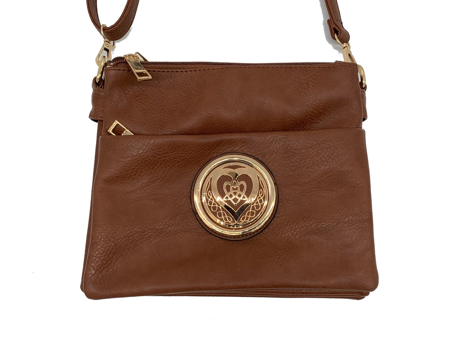 5829 Grab 'Go Cross Body  camel