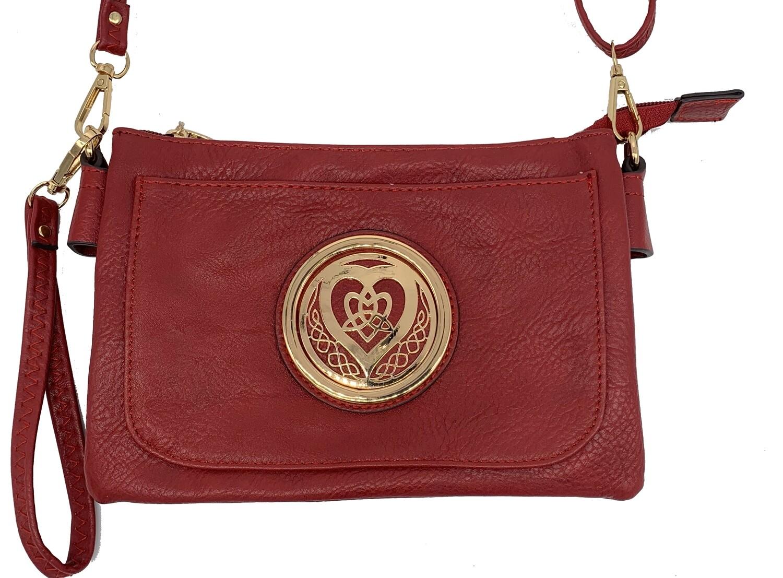 5110 Slip Pocket Cell Phone Bag red