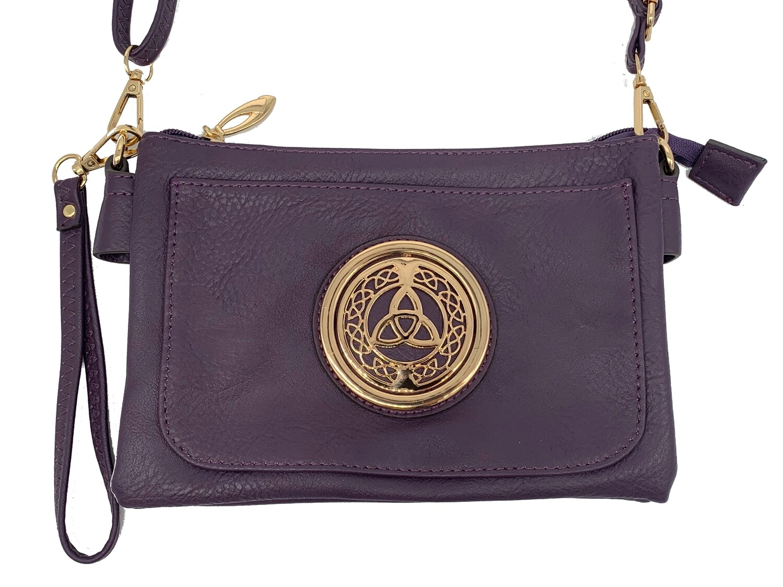 5110 Slip Pocket Cell Phone Bag purple