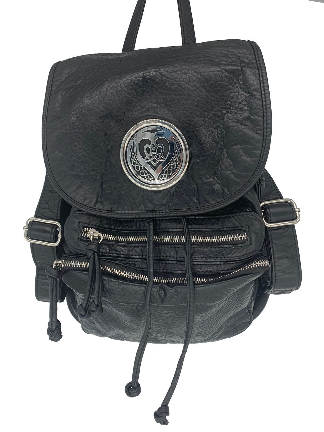19296 Washed Back Pack black