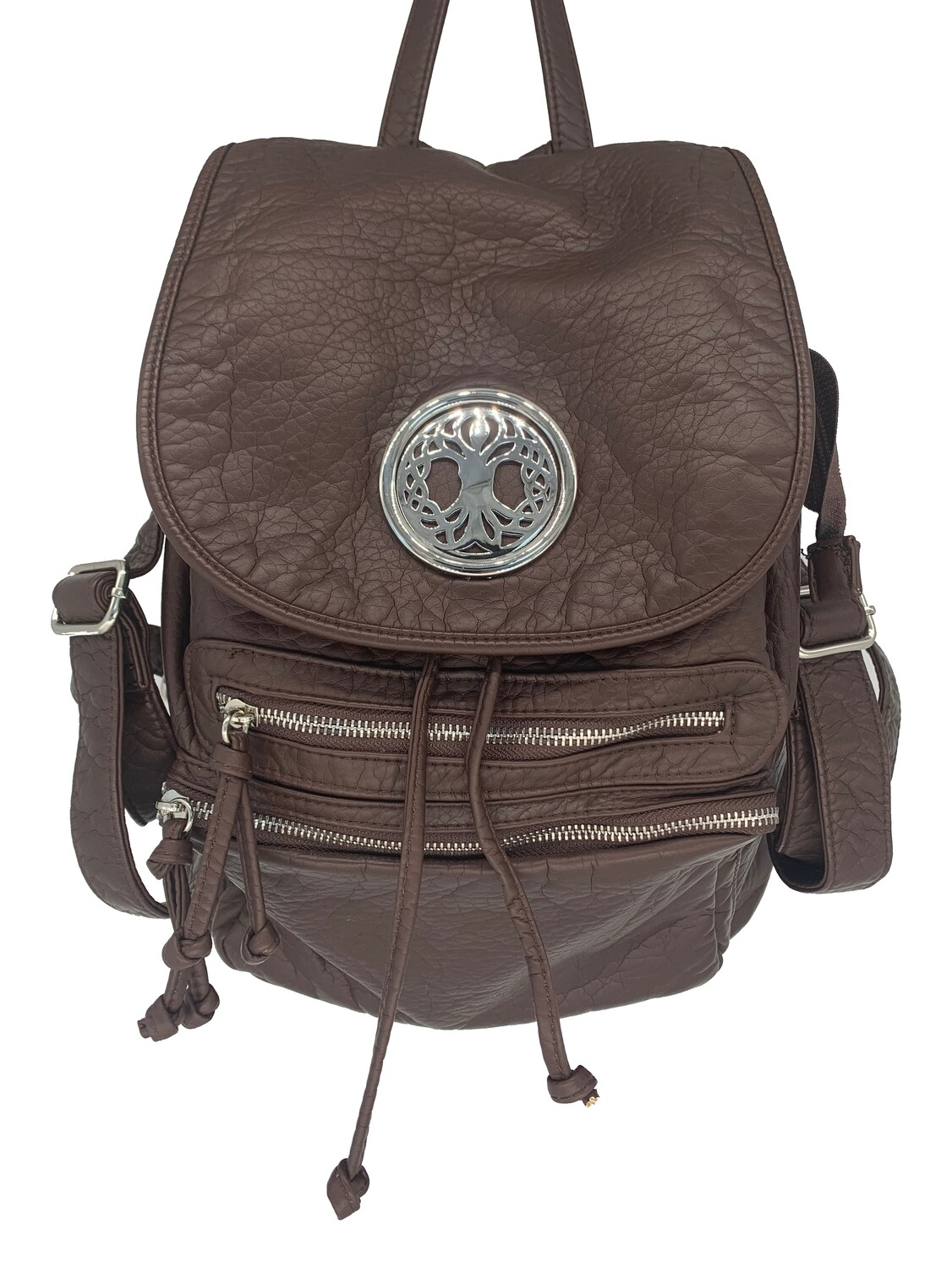 19296 Washed Back Pack coffee