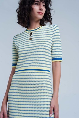 Lemoncello Knit Dress