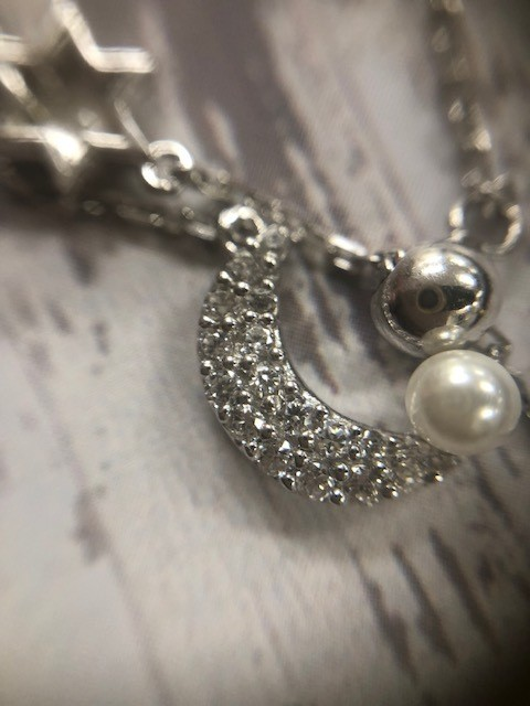 Pearlmoon Sterling Silver Necklace