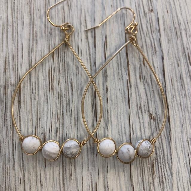 Seaport Three Earrings