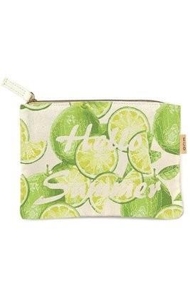 Canvas Clutch Bag
