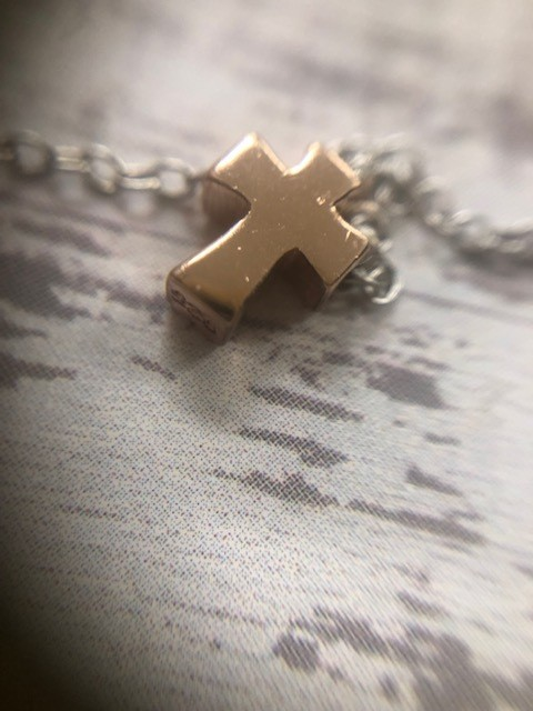 Short Cross Necklace