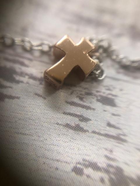 Short Cross Necklace