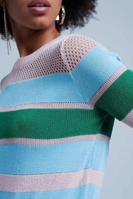 Kentucky Short Sleeve Knit Top