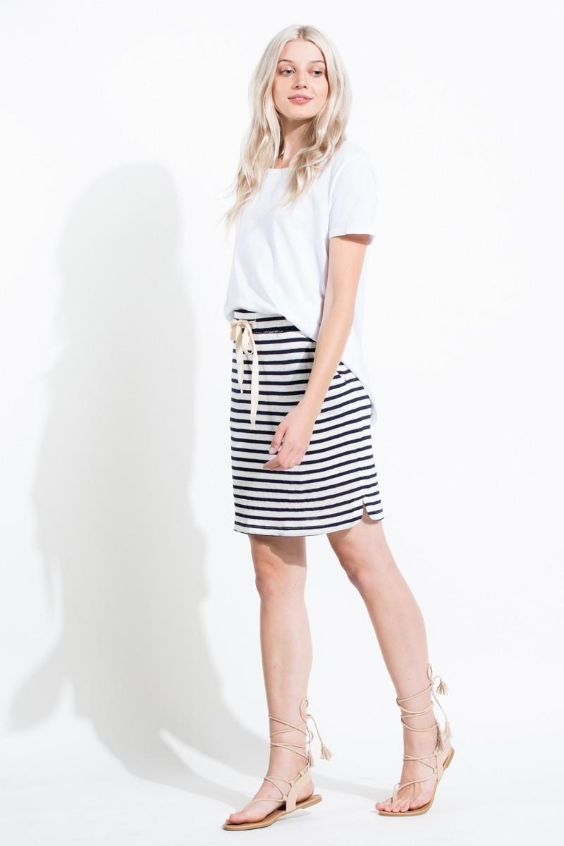 Nanucket Striped Skirt