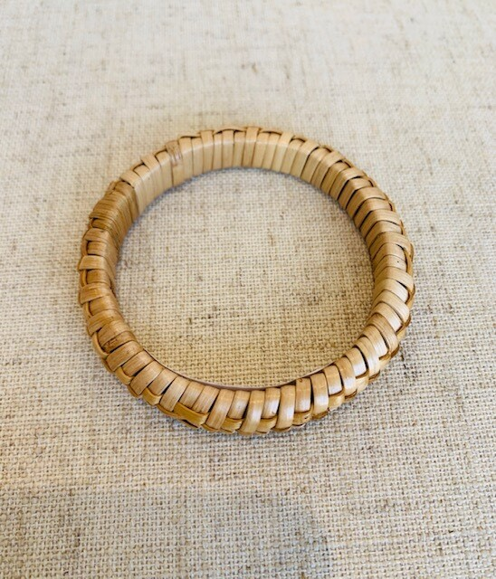 Braided Bamboo Cuff
