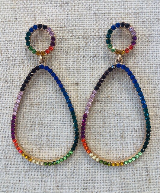 Vibin Oval Earrings