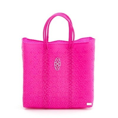 Oaxaca Solid Pink Tote