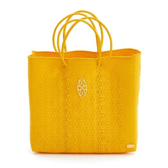 Oaxaca Solid Yellow Tote