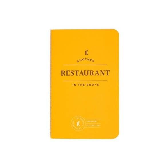 Restaurant Passport Journal