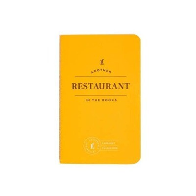 Restaurant Passport Journal
