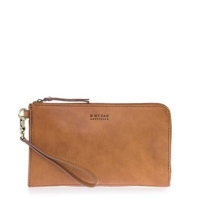 Classic Travel Wallet Cognac Leather