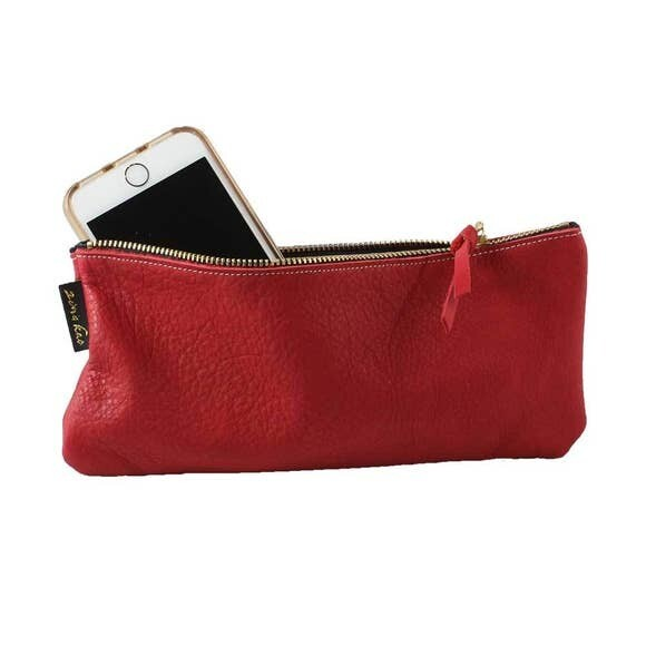 Soft Leather Grant pouch