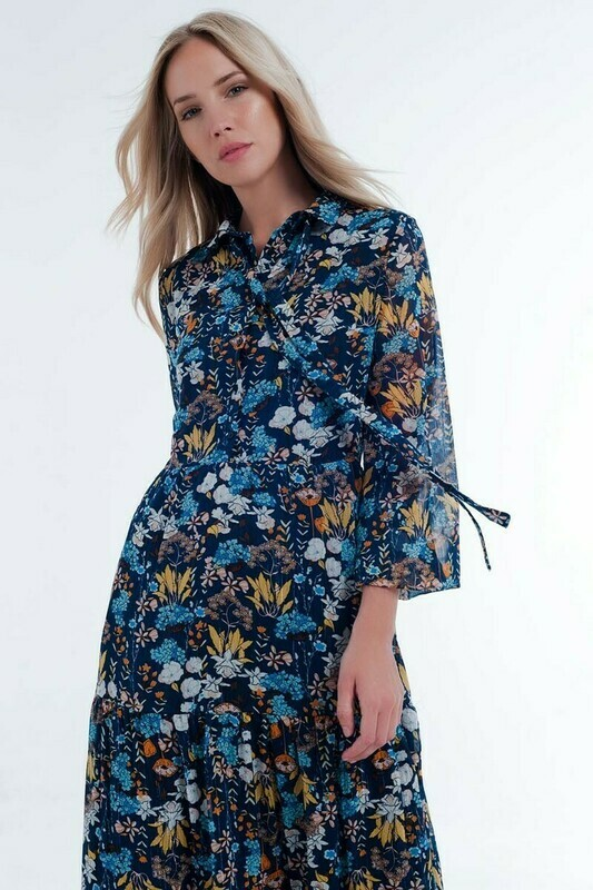 Blue Cornflower Dress