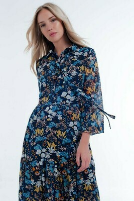 Blue Cornflower Dress
