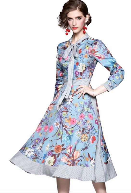 Blossom Flower Dress