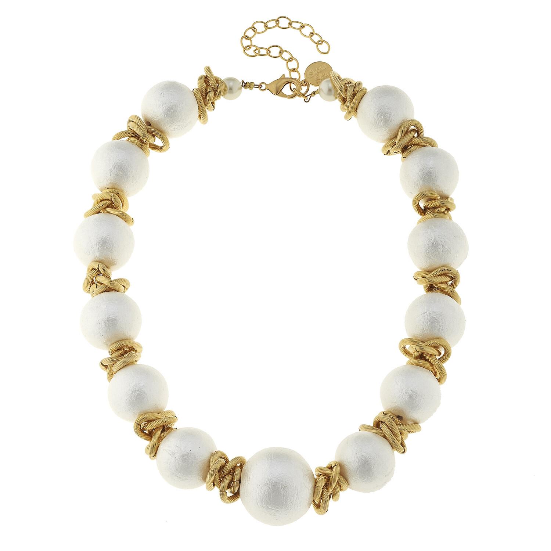 Cottone Pearl Choker