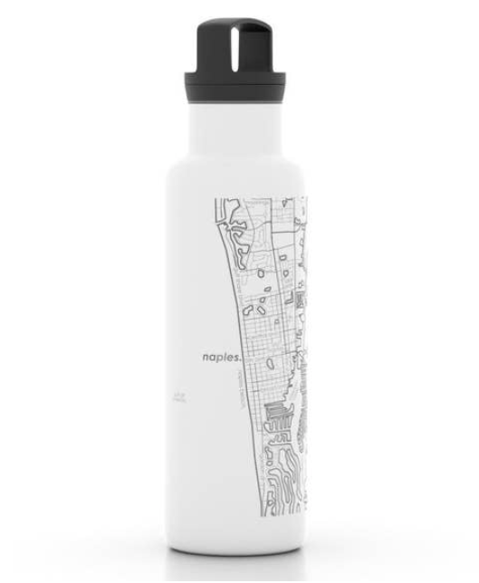 Naples 21 oz Insulated Hydration Bottle