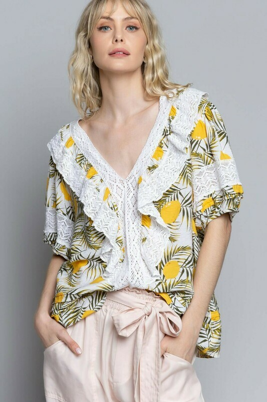 Loose with Lemons Top